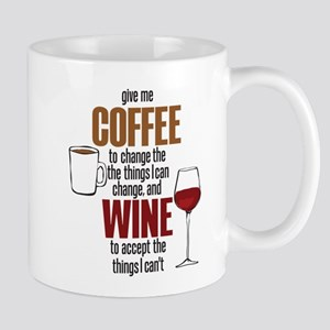 Give me Coffee to change the things I can Mugs