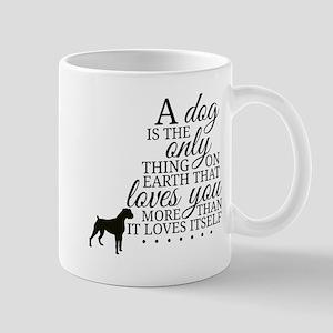 A Dog's Love Mugs