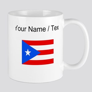 Custom Puerto Rico Flag Mugs
