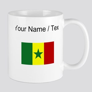 Custom Senegal Flag Mugs