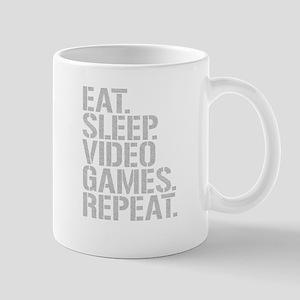 Eat Sleep Video Games Repeat Mugs