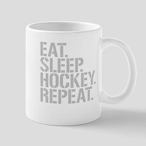 Eat Sleep Hockey Repeat Mugs