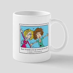 Crazy Best Friends Mug