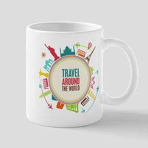 Travel around the world Mug