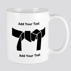 Black Belt 11 oz Ceramic Mug
