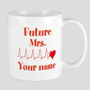 Personalizable Future Mrs. __ Mug