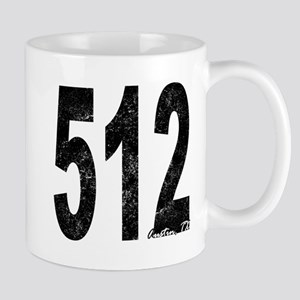 Distressed Austin 512 Mugs
