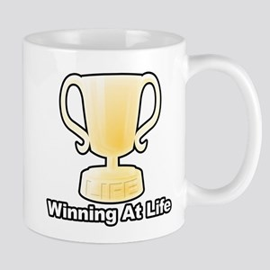 Winning At Life Mugs