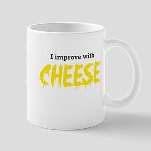 I improve with cheese Mugs