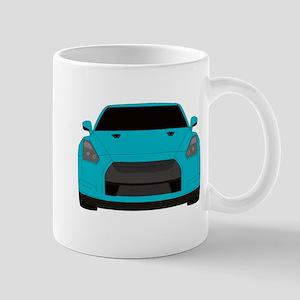 gtr front Mugs