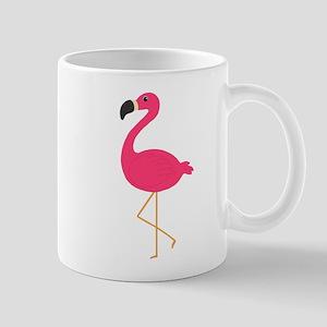 Cute Pink Flamingo Mugs