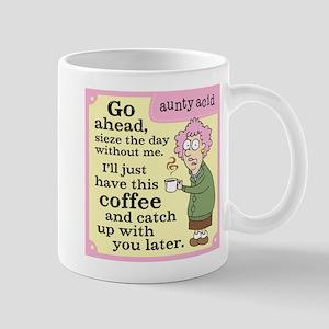 Aunty Acid: Seize the Day Mug