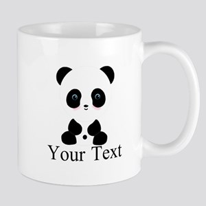 Personalizable Panda Bear Mugs