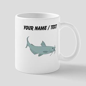 Custom Blue Catfish Mugs