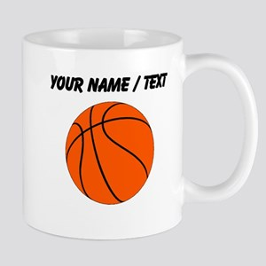 Custom Orange Basketball Mugs