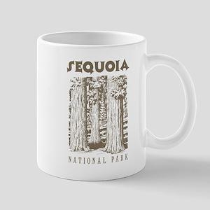 Sequoia National Park Trees Mugs