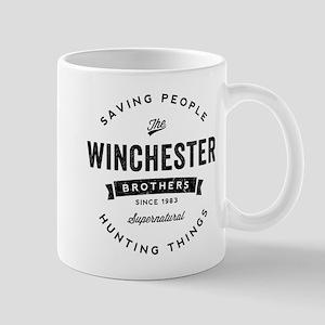 SUPERNATURAL Winchester Bros black Mug
