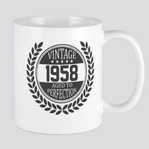 Vintage 1958 Aged To Perfection Mugs
