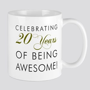 20 Years Awesome Drinkware Mugs