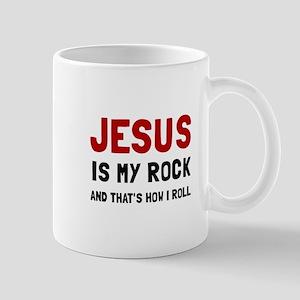 Jesus Rock Roll Mugs