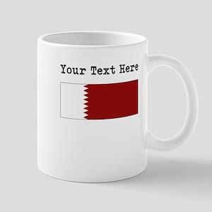 Custom Qatar Flag Mugs