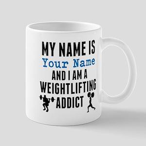 Weightlifting Addict Mugs