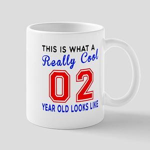 Really Cool 02 Birthday Designs Mug