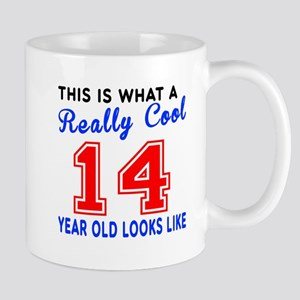 Really Cool 14 Birthday Designs Mug