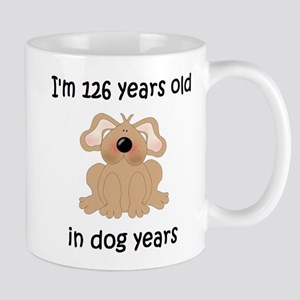 18 dog years 5 Mugs