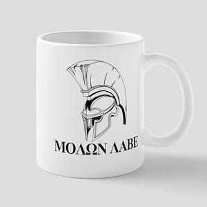 Spartan Greek Molon Labe Come and Take it Mugs