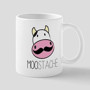 MOOstache Mugs