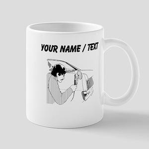 Auto Body Worker (Custom) Mugs