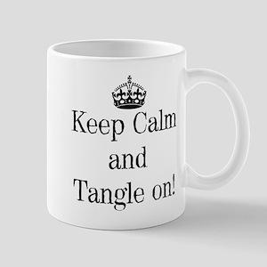 Keep Calm and Tangle On! Mugs