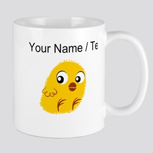 Custom Yellow Chick Mugs