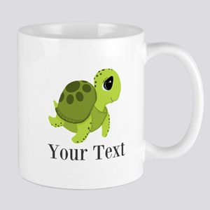 Personalizable Sea Turtle Mugs