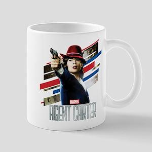 Agent Carter Stripes Mug