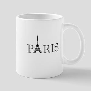 Paris Eiffel Tower Mugs
