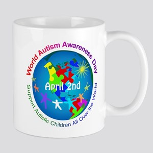 World Autism Awareness Day Mugs