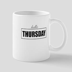 Hello Thursday Mugs