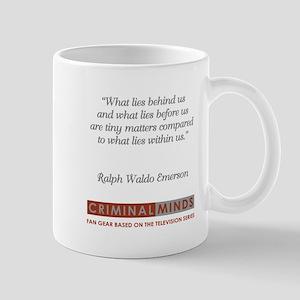 RALPH WALDO EMERSON QUOTE Mug