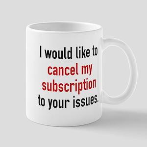 Cancel My Subscription Large Mugs