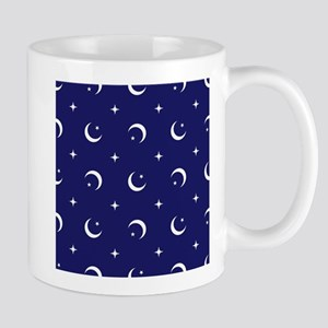 Celestial geometric design crescent moons sta Mugs