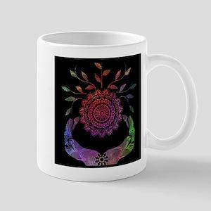 Rainbow Soul-Seed Mandala Mugs