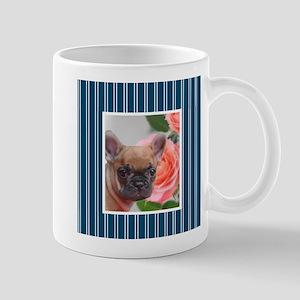 Blue French Bulldog Mugs
