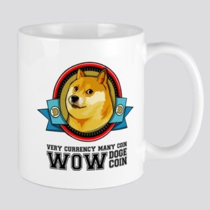 Dogecoin Doge Shibe Wow Much Network Mugs