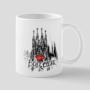I love Barcelona Mugs