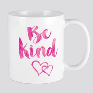 Be Kind Watercolor Inspirational Quote Motiva Mugs