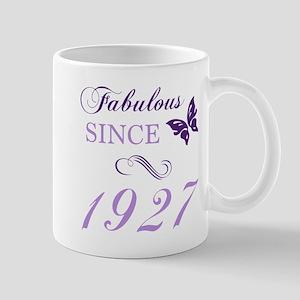 Fabulous Since 1927 Mugs