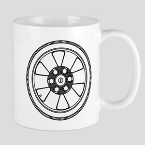 Low Profile Tyre With Wheel Mugs