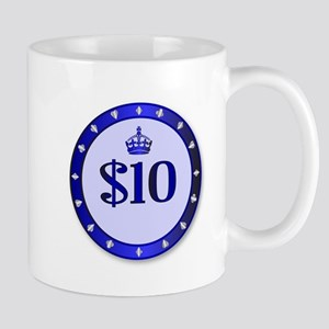 10 Dollar Chip Mugs